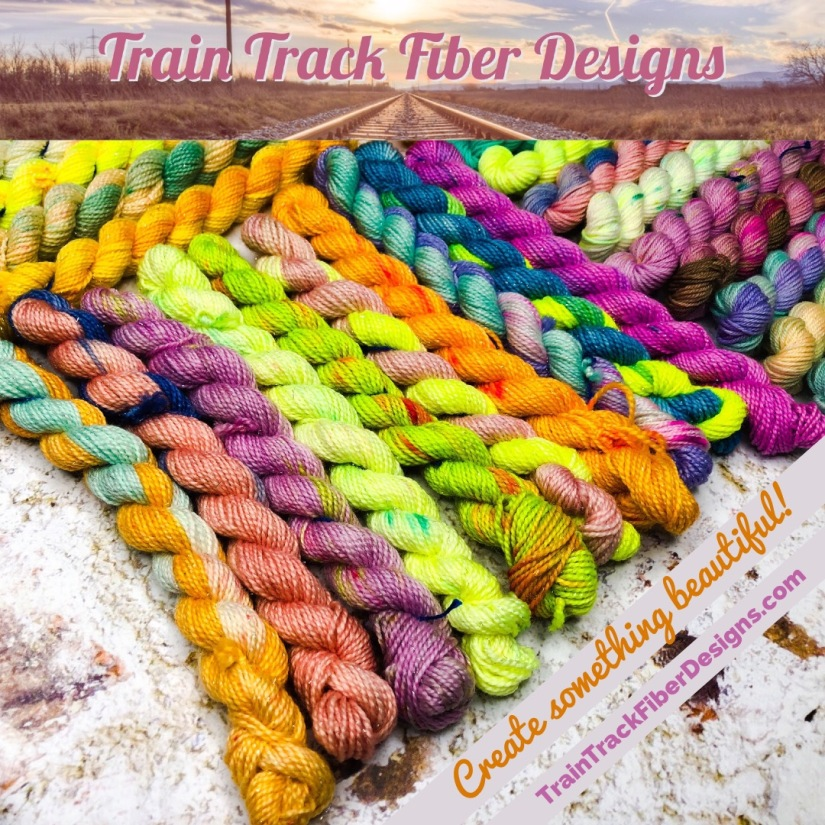 10g mini yarn skeins